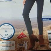 esmara.стильные стрейчевые super skinny. fit евро 36+6