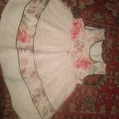 Нарядное платье для девчушки