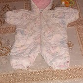 демисезоний комбинезончик для маленької принцеси з 6 месецев.
