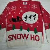 Яркий свитер Bad Santa! р.48-50!!