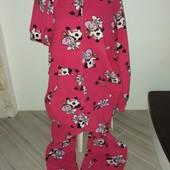 Слип пижама микрофлис размер л/хл замеры на фото