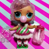 Куколка Winter disco в комплекте одежды и аксами оригинал MGA lol лол