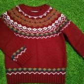 Яркий и теплый свитер Tu, рост 92-98 см (2-3 года) в идеале
