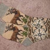 Шерстяні шкарпетки (по стопі26см)
