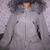 New look женское демисезонное пальто, размер 46-48