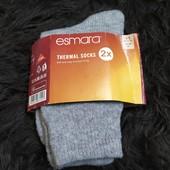 П195.Лот 1 пари.Теплі щільні носки Esmara 35/38