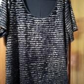 Красивая фирменная блуза на 56-58р Новое состояние!