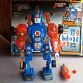 робот- трансформер- конструктор!!!