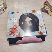 Германия!!! Очень красивый свитшот на флисе, для девочки! 110/116!