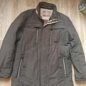 Мужская куртка большого размера с утеплителем