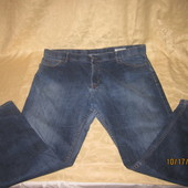 Симпатичные мужские джинсы для дома или на спецовку,есть нюансы,р.W42/L31,смотрите замеры