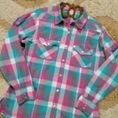 Стильная,красивенная рубашечка Next ,на девочку 11-13 лет