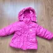 Демисезонная курточка на девочку (90 размер )
