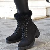 Дорогие, стильные женские ботинки !!! На ножке невесомые!