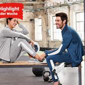 мужской тренировочный легкий спортивный костюм от Crane.