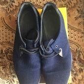 Почти новые туфли из натурального замша
