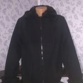 Женская Флисовая кофта с мехом. Размер 48-50