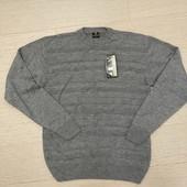 Турецкий фактурный свитерок с шерстью, р. M-L