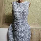 Собираем лоты!! Плотное платье узор, размер 12