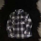 И63.рубашка фланелева Lupilu 92