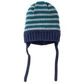 Тёплая вязаная шапочка на тонком флисе Lupilu (Германия), размер 74/80