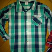 Рубашка для мальчишки бренд Oliver