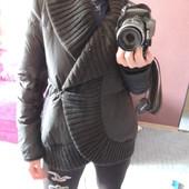 Куртка, пуховик р. С-М, фирменный теплый зима