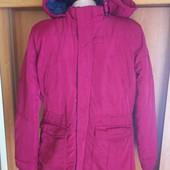 Куртка зима, натуральный ПУХ, размер 14 лет 164 см, Pepe jeans. состояние отличное