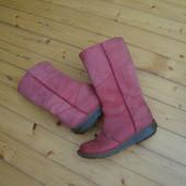 Сапоги Dr.Martens Pink натур кожа оригинал 39-40 размер