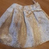 Очень красивая нарядная юбка 122-134р.