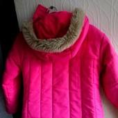 Теплая детская куртка рост 122 (можно раньше!)
