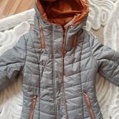 Теплая курточка на холодную осень