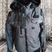женская теплая куртка на холодную осень g-star raw, размер L 48-50