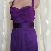 платье с шелковой отделкой