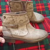 Chika 10 32р стильные ботинки на осень