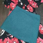 Тёплая юбка, красивого изумрудного оттенка George pp 12