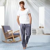 ☘ Мужские брюки для сна и отдыха, органический хлопок, Tchibo(Германия), рр. наш: 60-62 (ххL евро)