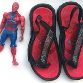 ▶▶▶Вьетнамки с человеком пауком Спайдермен Spiderman 17.5 см по стельке◀◀◀ уп 15%, нп 5% скидка!