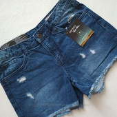 Эффектные фирменные джинсовые шорты от Esmara Новые