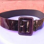 красивый нарядный пояс 80-100 см темно-фиолетовый