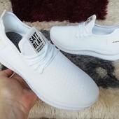 Тренд сезона! Дышащие белые кроссовки Sayt Rlae,суперская моделька.