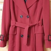 Эффектное демисезонное пальто модного бренда Principles Англия на шикарные формы
