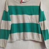 Укороченный свитер,кроп топ от h&m