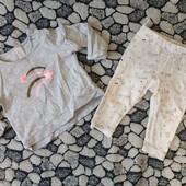 Комплект одежды для девочки 9-12 мес.