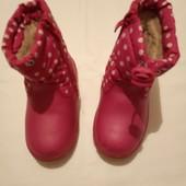 Зимові чобітки зимние сапожки для девочки 24 размер