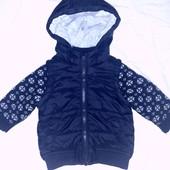 Классная демисезонная куртка от 3 до 6 мес