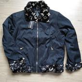 Женская демисезонная куртка на синтепоне Louis Vuitton Франция, размер L 50-52.