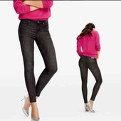 Бомбезные  джинсы c ломпасами Esmara c коллекции Heidi Klum евро 34+6 замеры