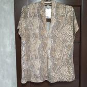 Фирменная новая красивая блуза р.16