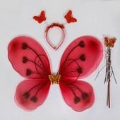 Карнавальный набор для девочки Бабочка из 3-х предметов